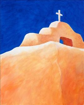 "New Mexico 1 Acrylic on Canvas 20"" x 16"""