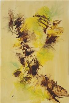 "The Bog Ink on Clayboard 36"" x 24"""