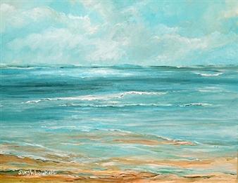 "Summer Tide Acrylic on Canvas 14"" x 18"""
