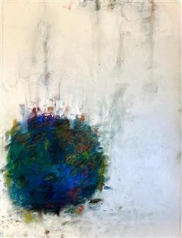 "Summer  (CT Study) Pastel on Paper 24"" x 18"""
