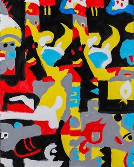 """Untitled13 Acrylic on Board 36"""" x 29"""""""