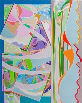 "Spring Canzonetta Acrylic on Canvas 30"" x 24"""