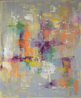 "The Thaw Acrylic on Canvas 24"" x 20"""