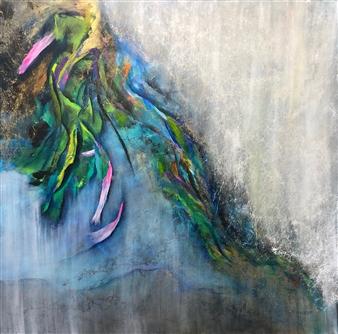 "Untitled 2 Acrylic on Canvas 36"" x 36"""