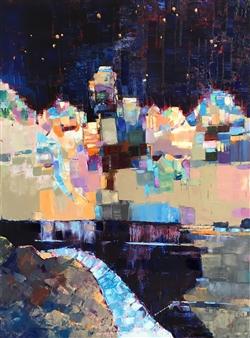 """Fairy Tale Oil on Canvas 40"""" x 30"""""""