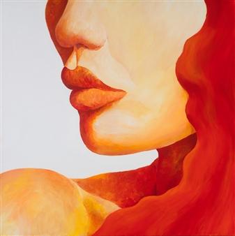 "Sixteen Acrylic on Canvas 24"" x 24"""