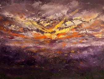 "Dawning Despite Oil on Canvas 30"" x 40"""