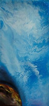 Glow of the Blue Universe