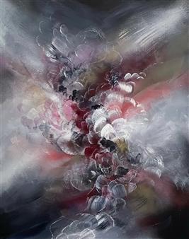 """Reawaken Acrylic & Spraypaint on Canvas 30"""" x 24"""""""