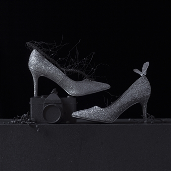 """Still Life in Wet with Andy's Shoes / second variation Archival Pigment Print 20"""" x 20"""""""