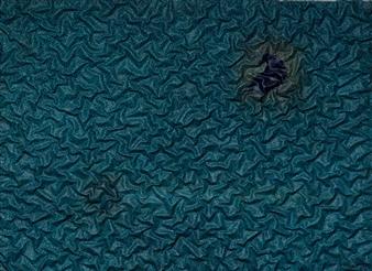 """Crow's Nest Oil on Linen on Wood 32"""" x 42"""""""
