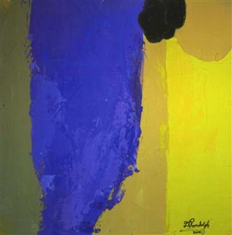 """Acrylic 37 Acrylic on Canvas 30"""" x 30"""""""