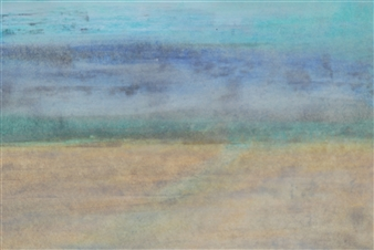 "Atlantidian Trip Oil on Paper 11.5"" x 16.5"""