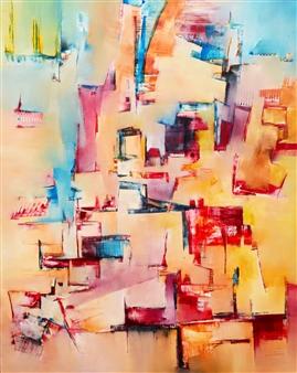 """Arqa Oil on Canvas 39.5"""" x 31.5"""""""