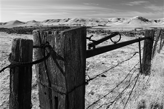"""The Working Fence with a View Digital Print on Fine Art Paper 16"""" x 24"""""""