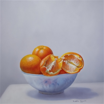 Bol con Naranjas