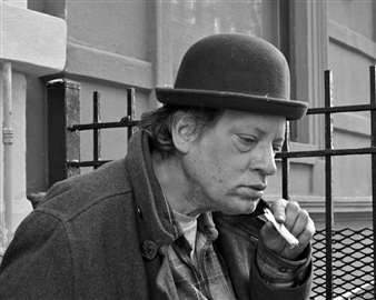 "Pensive,  (New York) Gelatin Silver Photo 8"" x 10"""
