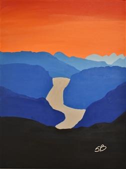 """La Source Acrylic on Canvas 24"""" x 18"""""""