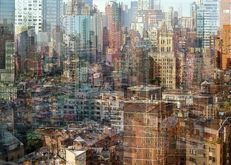 "City Density 01 Digital C-Print 20"" x 27.5"""