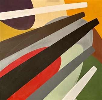 """Impulse Acrylic on Canvas 35.5"""" x 35.5"""""""