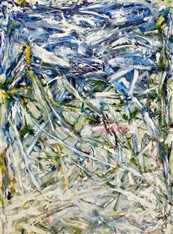 """Sunset  (Frozen Joan) Oil on Canvas 48"""" x 36"""""""