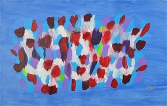 """Skirt Acrylic on Canvas 31.5"""" x 51.2"""""""