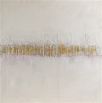 "Vibrations II Acrylic & Mixed Media on Canvas 20"" x 20"""