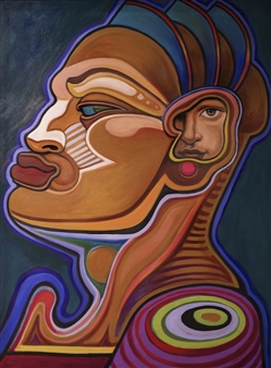 """Dido's Lament Oil on Canvas 43"""" x 33"""""""