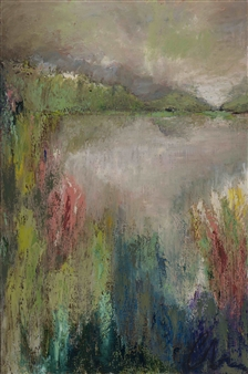 """Meadow Oil on Canvas 72"""" x 48"""""""