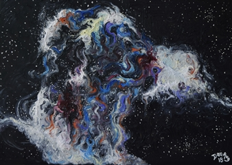 Galactic Collision