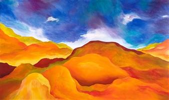"""Mistral Acrylic on Canvas 36"""" x 60"""""""