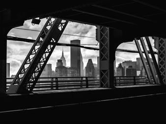 "NYC Manhattan Silver Gelatin Print 23.5"" x 35.5"""