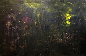 "Na Natureza Sempre Selvagem Acrylic on Canvas 43.31"" x 59.05"""
