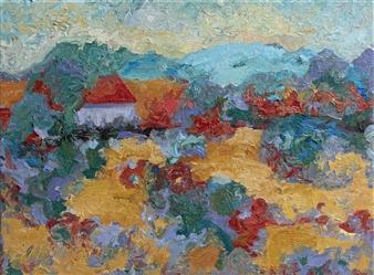 "Summer Haze Oil on Canvas 12"" x 16"""