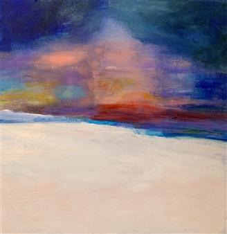 """Serene Fog Acrylic on Canvas 20"""" x 20"""""""