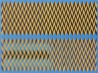 "Triangles Acrylic on Canvas 22"" x 29.5"""