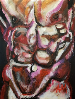 Torso on Deep Purple
