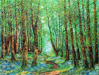"""Grove Acrylic on Canvas 16"""" x 20"""""""