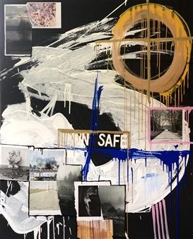 """Cisco Dream Mixed Media on Canvas 60"""" x 48"""""""