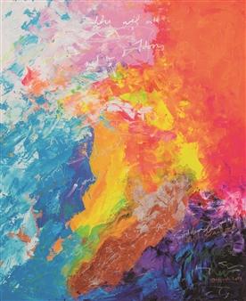 "Upper Hand 1 Acrylic on Canvas 35.5"" x 29.5"""