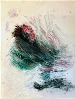 "Sealorn  (CT Study) Pastel on Paper 24"" x 18"""