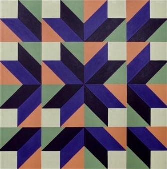 """The Mystery of Geometry #17 Acrylic on Canvas 39.5"""" x 39.5"""""""