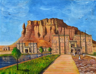 Temple at Barkal