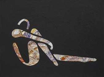 """Nude 7 Acrylic on Canvas 36"""" x 48"""""""