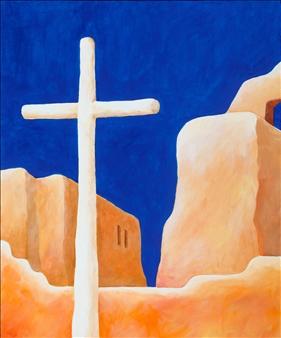 "New Mexico 3 Acrylic on Canvas 24"" x 20"""