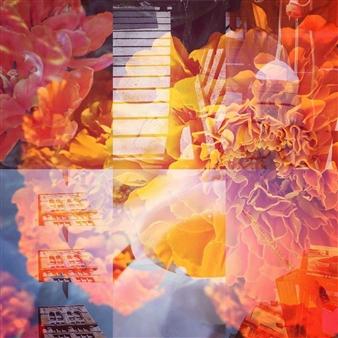 "Cityscape Vibes, No. 1 Photo Collage 12"" x 12"""