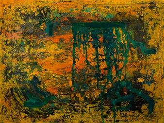 "Circle of Life Acrylic on Canvas 36"" x 48"""
