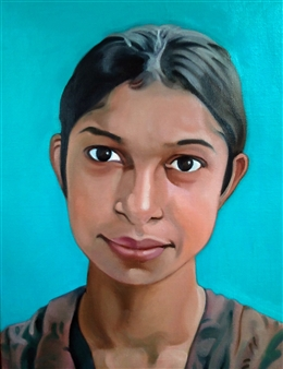 An Expressive Girl at Dhaka