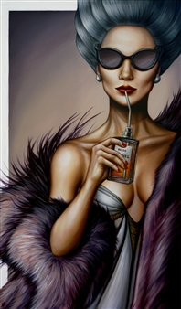 """The Hunger Oil on Canvas 47.5"""" x 28"""""""