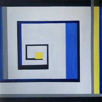 "Quarantine Acrylic on Canvas 35.5"" x 35.5"""